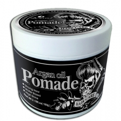 Water based wax form pomade